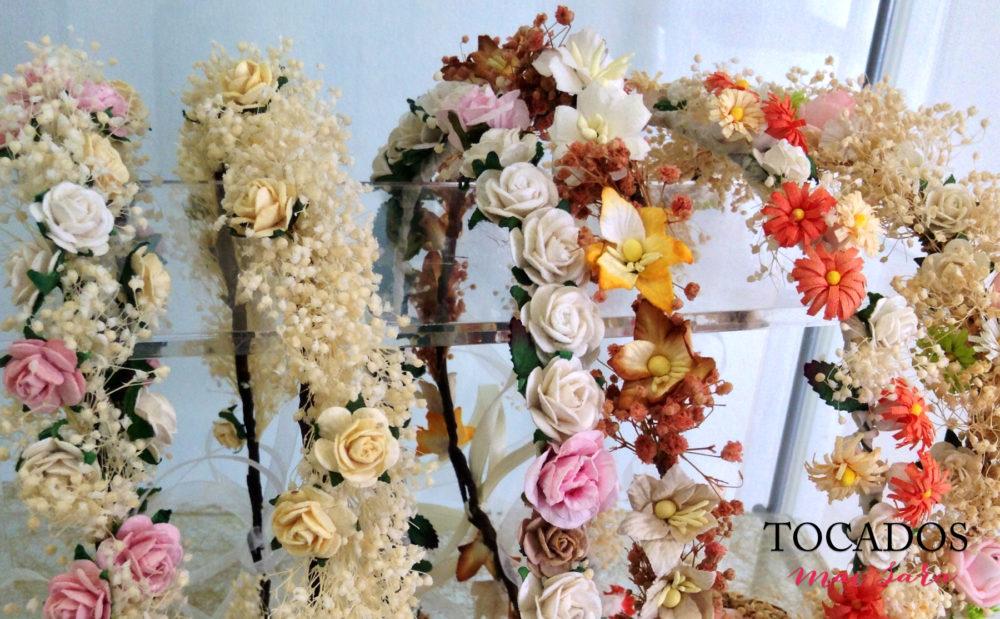 Corona comunión floral
