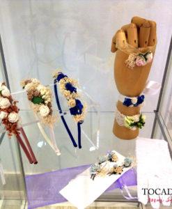 Diadema comunión floral