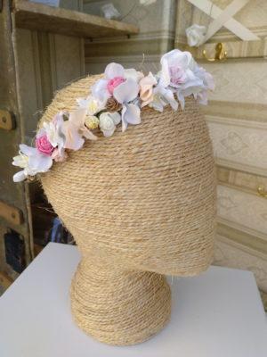 Coroana floral hortensias ORNELA