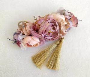 Cinturon de flores pastel ADAN