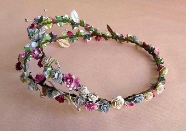 Corona floral JULIA