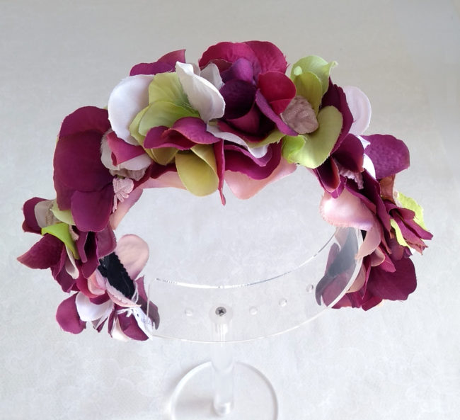 Diadema floral bugambilla ADELE
