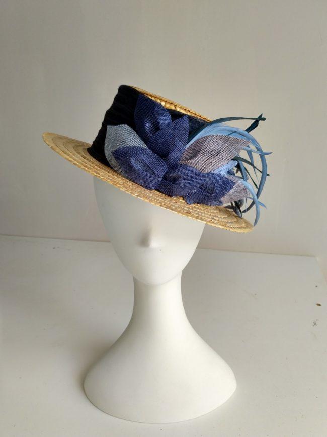 Canotier azules JEREZ 1
