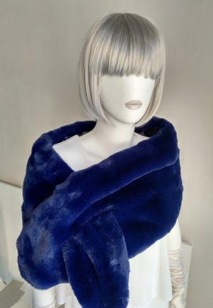 Estola UNNO Azul Marino