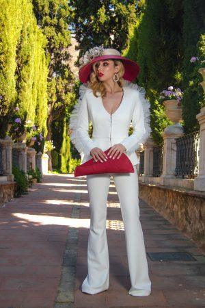 Sombrero de Paja Rojo LUCIA